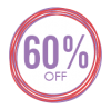 Sales Badge - 60% Off