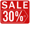 Sales Badge - 30% Off