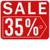 Sales Badge - 35% Off