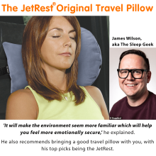 Daily Mail Recommends the Best Travel Pillow