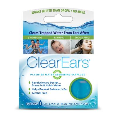 Clearears Earplugs for Swimming