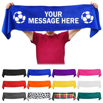 Personalised Sports Fan Scarf